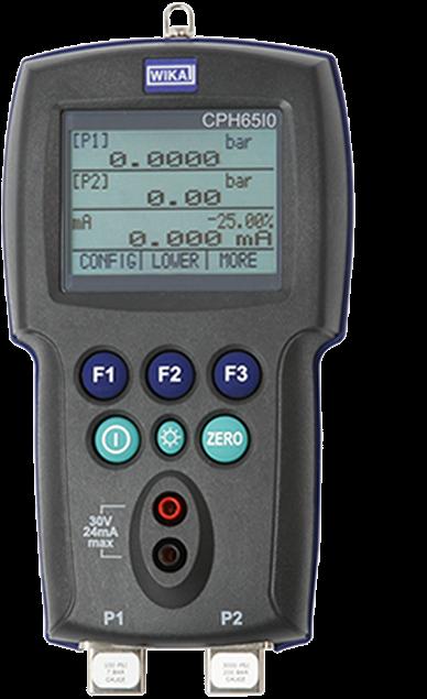 Calibrador de pressão intrinsecamente seguro modelo CPH65I0