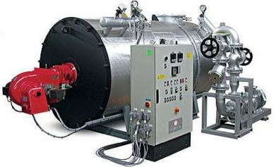 Planta de transferência de calor do óleo