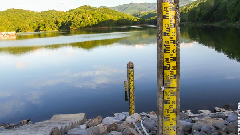 medição de nível hidrostático
