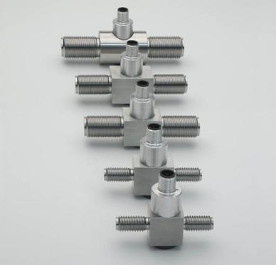 Células de carga (ou transdutores de força) F2301 são adequados para medição de força em dispositivos lineares