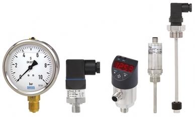 Tecnologia de medição selecionada da WIKA para unidades hidráulicas