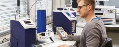 Calibration of thermometers (e.g. thermocouples)